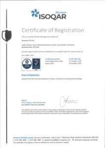 Amiante STR ISO14001
